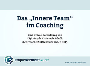 Webinar-Video: Das innere Team im Coaching